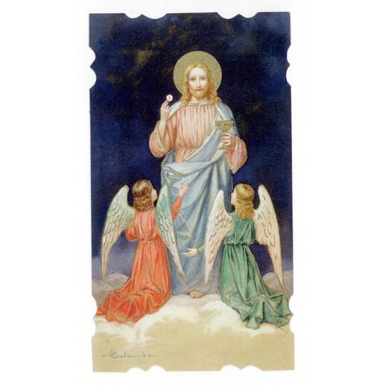 Santino Comunione Gesù