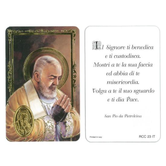 Santino Benedizione PADRE PIO