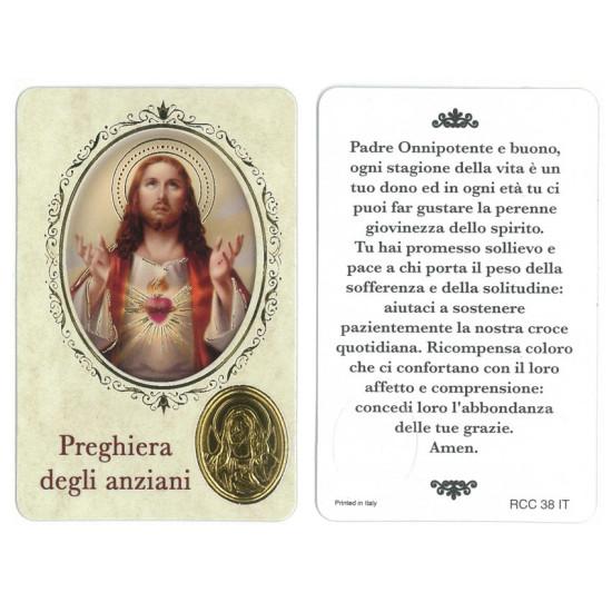 Santino preghiera degli ANZIANI