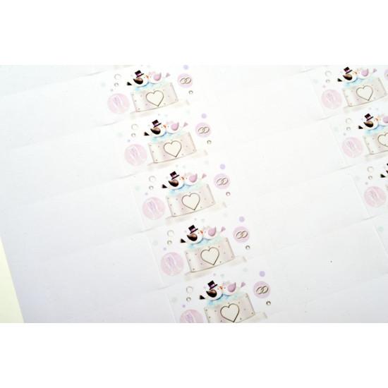 Kit 25 scatoline bomboniere portaconfetti NOZZE