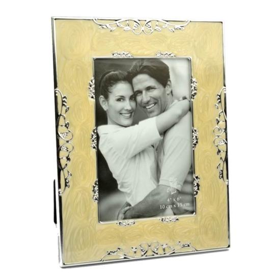 Cornice 10x15 portafoto madreperla