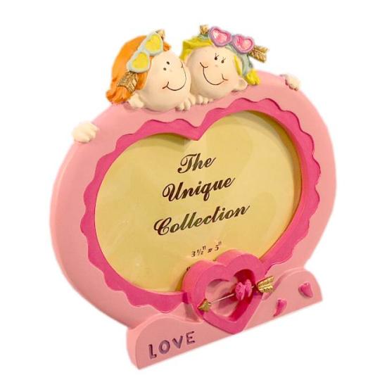 Cornice Cupido a cuore