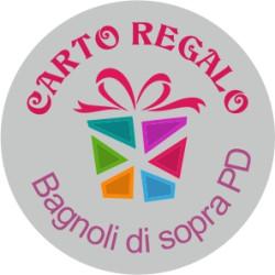Etichette personalizzate tonde ARGENTO 25mm