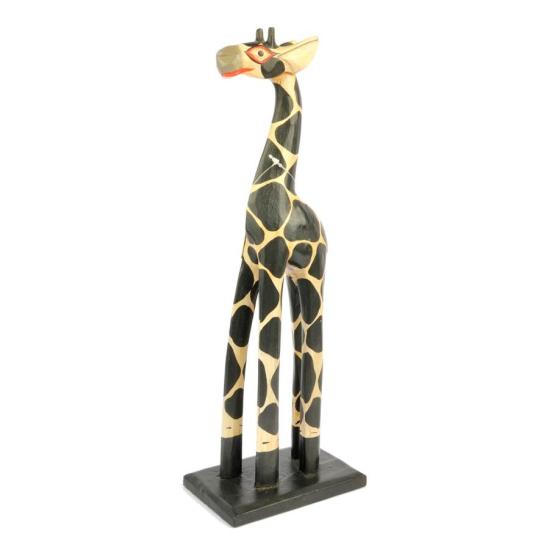 Giraffa in legno 40cm