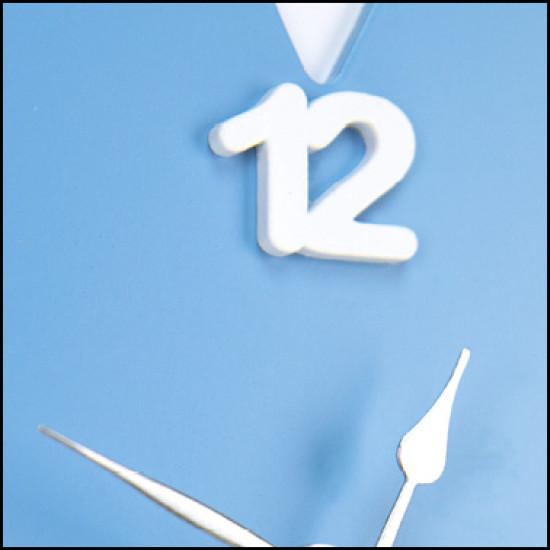 Orologio CIVETTA azzurro 31x27