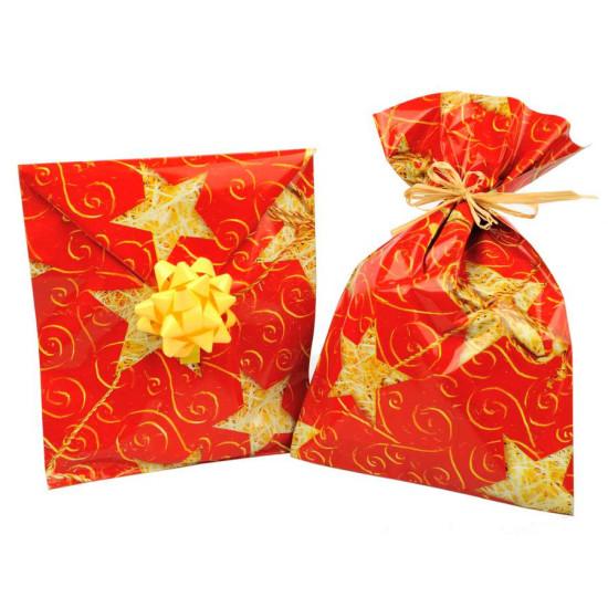 Busta regalo STELLE D'ORO varie misure